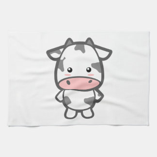 Cute Cow Hand Towel