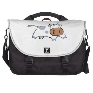 cute cow laptop bag