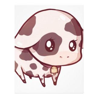 Cute Cow Letterhead