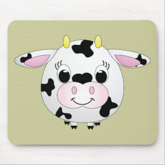 Cute Cow Mouse Pad