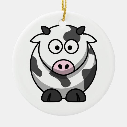 Cute Cow Ornament