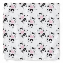 Cute Cow Pattern Bandana