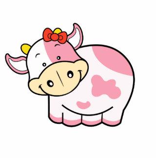 Cute Cow Photo Sculpture