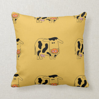 cute cow pillow