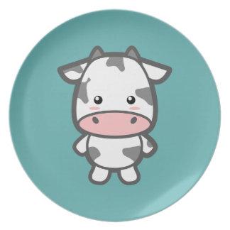 Cute Cow Plate