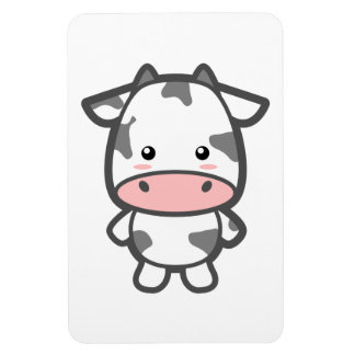 Cute Cow Rectangle Magnet