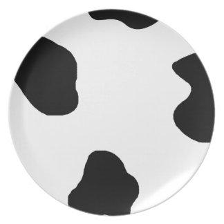 Cute Cow Print! Plate