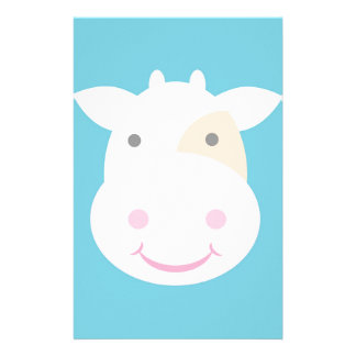 Cute Cow Stationery