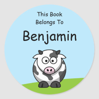 Cute Cow Sticker