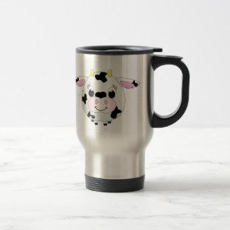 Cute Cow Travel Mug