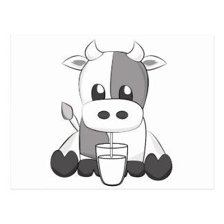 Cute cow - Vaquinha fofa Postcard