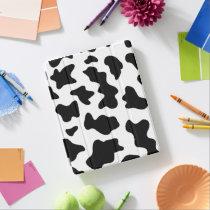 cute cowboy black and white farm cow print iPad smart cover