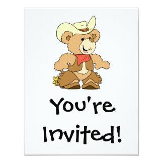 Cute Cowboy Rancher Bear Card