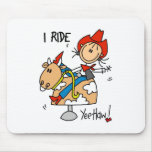 Cute Cowgirl Gift Mouse Pad