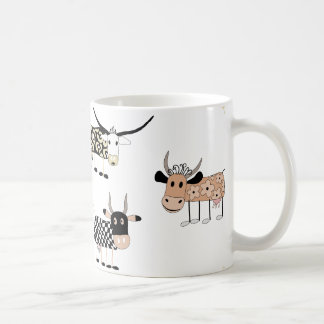 Cute Cows and farm feeling Coffee Mug