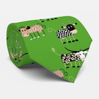 Cute Cows and farm feeling Neck Tie