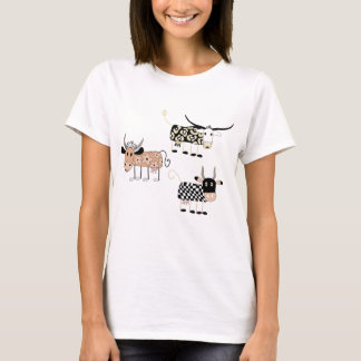 Cute Cows and farm feeling T-Shirt
