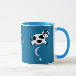 Cute Cows Jumping Over The Moon Mug