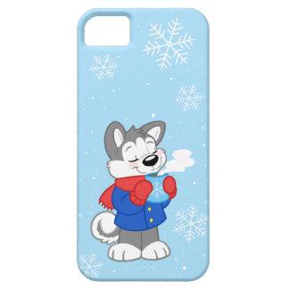 Cute cozy husky iPhone skin iPhone SE/5/5s Case