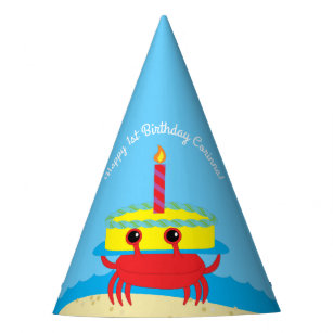 Cake 1st Birthday Party Supplies | Zazzle