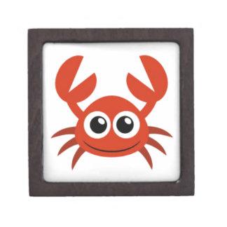 cute crab clip art jewelry box