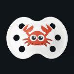 "cute crab clip art pacifier<br><div class=""desc"">Pacifier QPC Template</div>"
