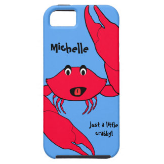 Cute Crab Crabby Personalized iPhone case iPhone 5 Covers