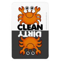 Cute Crab Dishwasher Magnet
