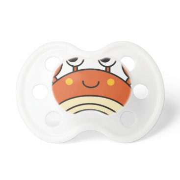 Beach Themed Cute Crab Pacifier