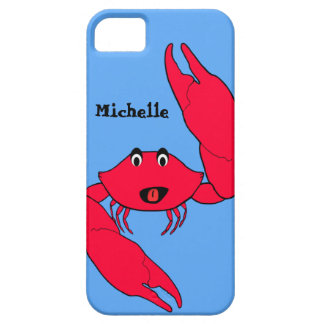 Cute Crab Personalized iPhone case