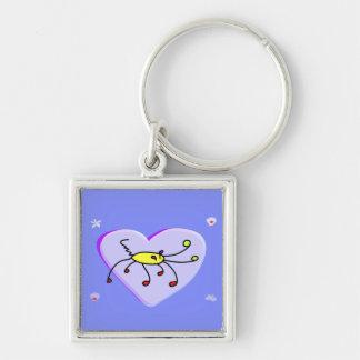 Cute crabby-crab keychain
