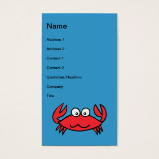 CUTE CRABS BUSINESS CARD