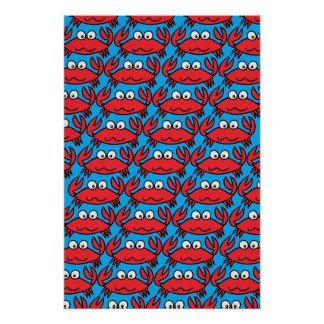 CUTE CRABS POSTER
