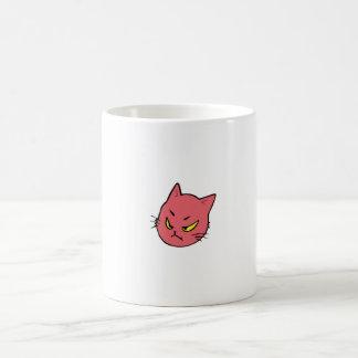 Cute Cranky Little Cat Coffee Mug