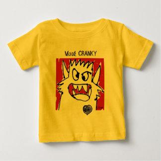 Cute Cranky Monster Cartoon Babies Baby T-Shirt