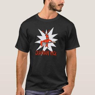 Cute Crawfish Crawdads Rock T-Shirt