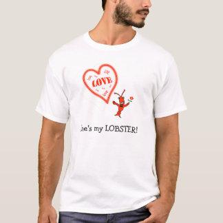 Cute Crawfish / Lobster Heart Shirt