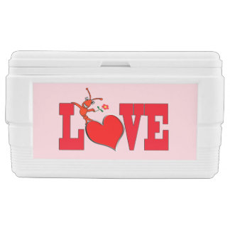 Cute Crawfish / Lobster Love Cooler