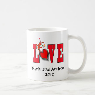 Cute Crawfish (Lobster) Love Mug