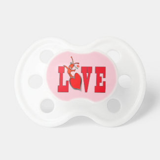 Cute Crawfish / Lobster Love Pacifier
