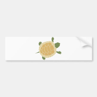 Cute Crawling Little Turtle Tortoise Bumper Sticker