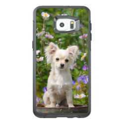 OtterBox Symmetry Samsung S6 Edge Plus Case with Chihuahua Phone Cases design