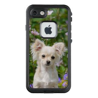 Cute cream Chihuahua Dog Puppy Photo /- waterproof LifeProof FRĒ iPhone 7 Case