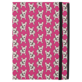 """Cute cream Frenchie is ready to play iPad Pro 12.9"""" Case"""