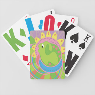 Cute Critter Low Vision Bicycle Playing Cards