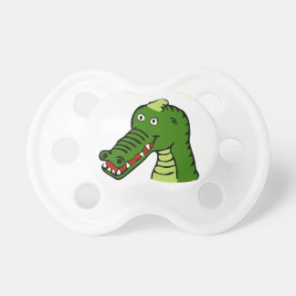 Cute crocodile pacifier