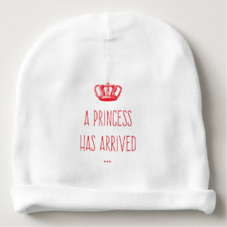 Cute Crown Princess Has Arrived Baby Beanie