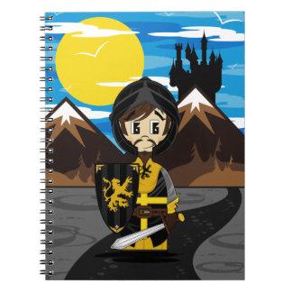 Cute Crusader Knight Notebook