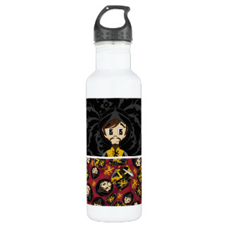 Cute Crusader Knight Water Bottle