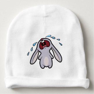 Cute Crying Bunny Rabbit with Tears Baby Beanie